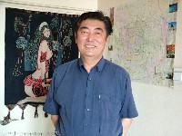 蒙古汉子的照片